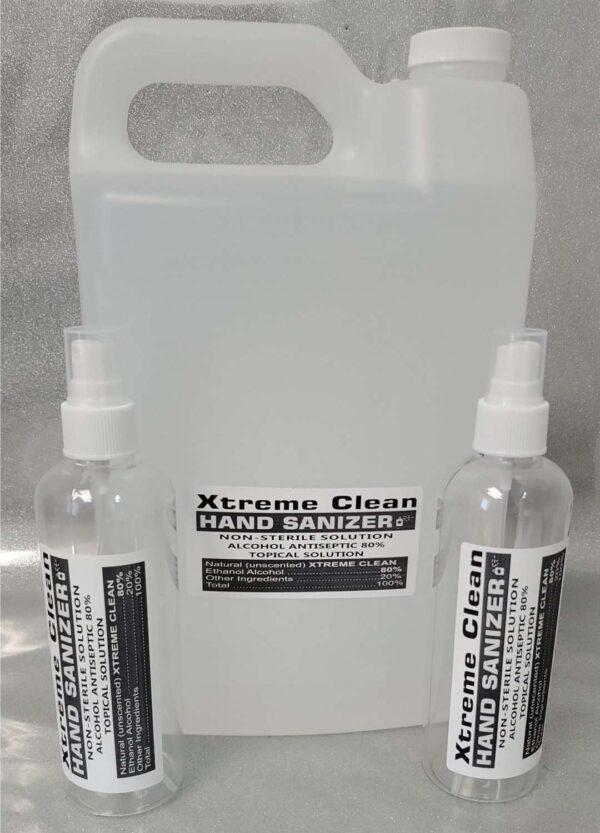 Xtreme Clean Hand Sanitizer Gallon